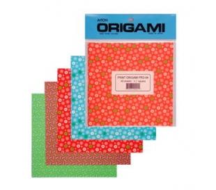 נייר אוריגמי הדפסים יפנים 40 דף