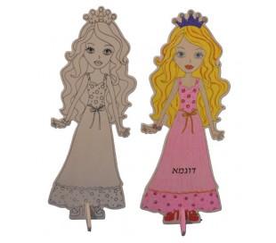 דמויות עץ ליצירה - הנסיכה