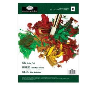 בלוק ציור צבעי שמן רוייאל