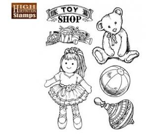 חותמות גומי HD סט צעצועים 14*18 סמ