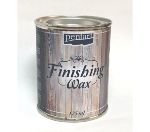 "משחת ווקס שקוף - 125 מ""ל Finishing Wax"