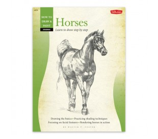 ספר ללימוד ציורי רישום - סוסים