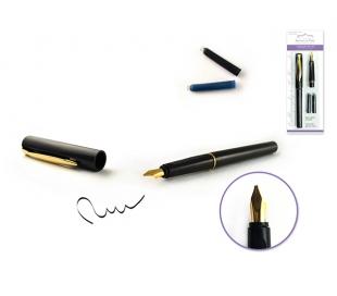 עט ציפורן - עט עם 2 צבעי דיו