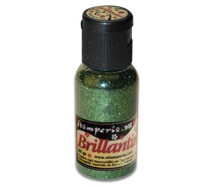 אבקת נצנצים בגוון ירוק כהה