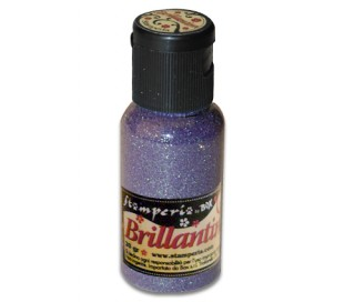 אבקת נצנצים בגוון סגול לילך