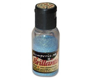 אבקת נצנצים בגוון כחול בהיר