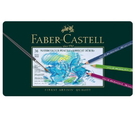 עפרונות מים מקצועיים פאבר קסטל אלברכט דירר ב 4 גדלים