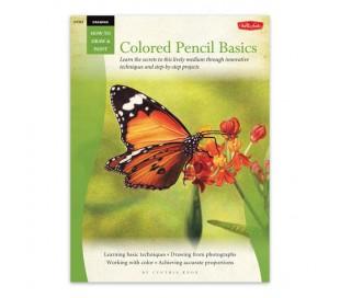 ספר ללימוד ציורי רישום בעפרונות צבעוניים