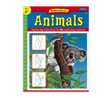 ספרות ילדים ללימוד ציור - חיות בר