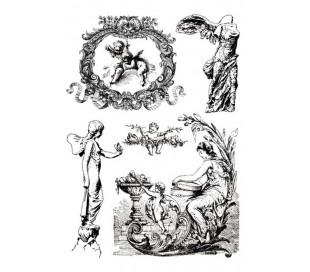 הדפסים לטרנספר -2 יח מלאכים