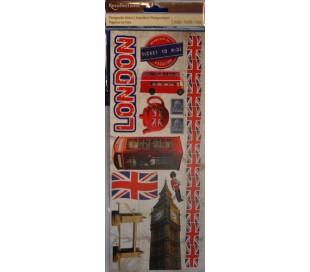 מדבקות סממני ארצות - אנגליה