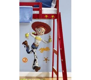 מדבקת קיר צעצוע של סיפור ג'סי -ענקית