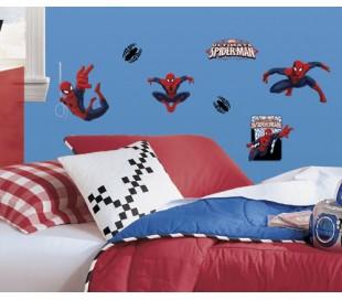 מדבקות קיר ספיידרמן גיבור העל