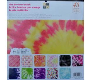 בלוק 48 ניירות קארדסטוק לעיצוב 30X30 משחקי צבע