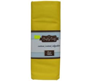 בד כותנה צבעוני צהוב 180*110 סמ