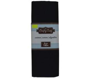 בד כותנה צבעוני שחור 180*110 סמ