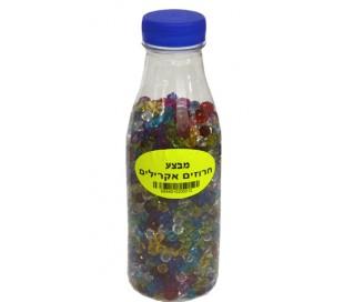 בקבוק חרוזים אקרילים 5 עד 10 ממ