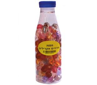 בקבוק חרוזים אקרילים בינוני מס 16