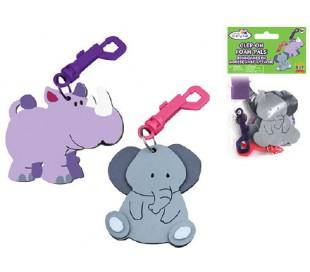 סט הכנת מחזיקי מפתחות מסול - פיל והיפו