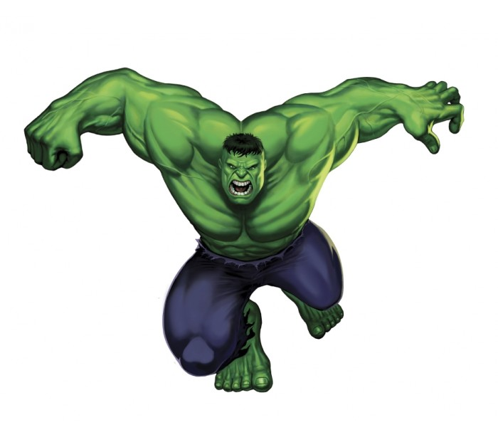 super heroes hulk wall decal wayfair