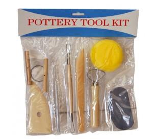 סט 8 כלים לפיסול