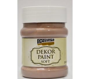 """צבעי דקור - חום שוקולד עדין 230 מ""""לא"""