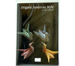 ספר הדרכה ונייר אוריגמי - סגנון אמריקאי