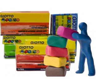 פלסטלינה ג'יוטו צבעונית ואיכותית
