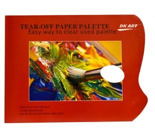 בלוק A4 פלטת צבע חד פעמית 40 דף