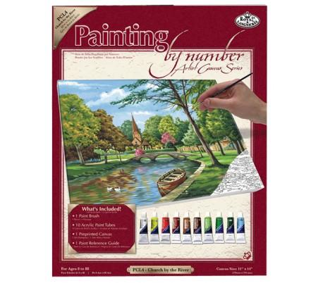 ערכת ציור לפי מספרים - לאורך הנהר