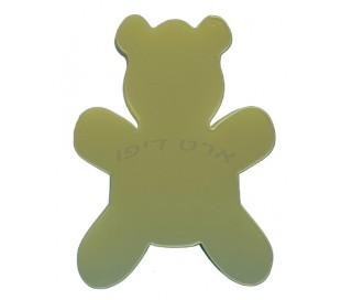 חיתוכי קלקר בדמות דובי - 5 יחידות