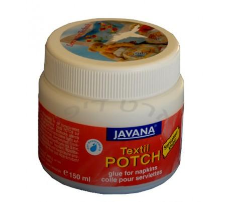 דבק מפיות לבדים   Textile Potch