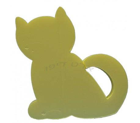 חיתוכי קלקר בדמות חתול - 5 יחידות