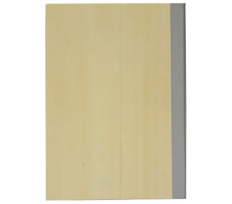 אלבום עיצוב חלק A4 מעץ טבעי