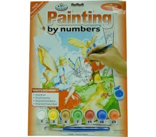 ערכת ציור לילדים - פיות בגינה