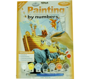 ערכת ציור לילדים - תיבת נח