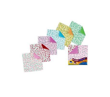 נייר אוריגמי מיני 125 דף דו צדדי פירחוני