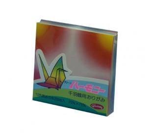 נייר אוריגמי מיני צבעוני 200 דף