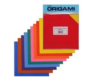 נייר אוריגמי דו צדדי עם גוון זהה בכל צד