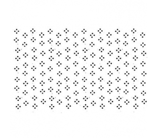 חותמת אקרילית לוח מיני פרחים 11*7 סמ
