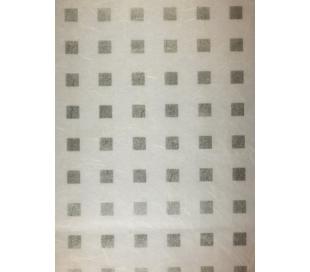 נייר עיצוב בעיטור לבבות ריבועים מוכספים 5 דפים