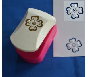 פאנצ'ים עם תבליט - פרח לבבות