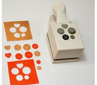 מנקב צורות מרתה סטוארט 5 כפתורים