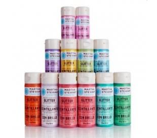 סדרת צבעי נצנצים של מרתה סטיוארט