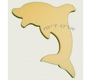 חיתוכי קלקר בדמות דולפין - 5 יחידות