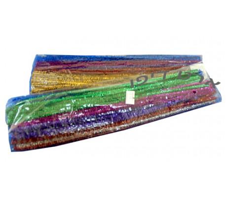 מנקה מקטרות בצבעים מתכתיים 100 יח'