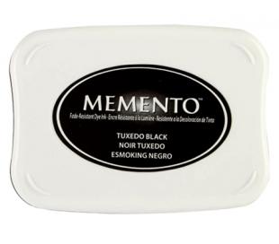 כרית דיו ממנטו שחור MEMENTO