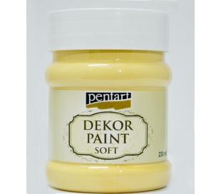 צבעי דקור 230 מל - לבן צהבהב