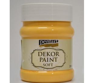 צבע דקור 230 מל - צהוב כתמתם