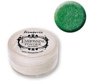 אבקת אמבוסינג להבלטה - ירוק